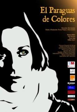El paraguas de colores cortometraje cartel