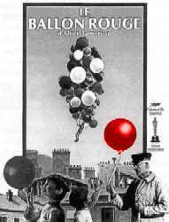 El globo rojo cortometraje cartel
