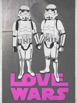 Love Wars cortometraje cartel