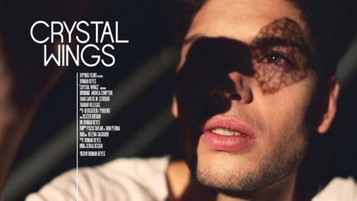 Crystal Wings. Cortometraje dirigido y protagonizado por Román Reyes