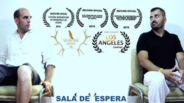 Sala de espera (Waiting room).Cortometraje español humor-cine fantástico