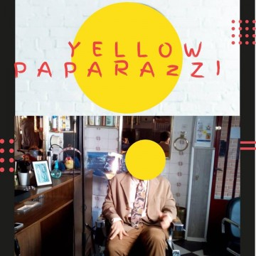 Yellow Paparazzi webserie cartel poster