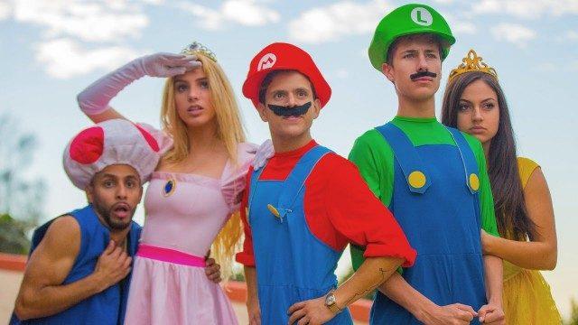 Super Mario Run. Cortometraje de Lele Pons de Super Mario