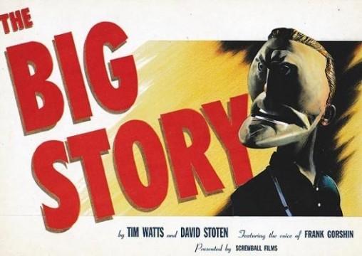 The Big Story. Cortometraje de animación Homenaje a Kirk Douglas