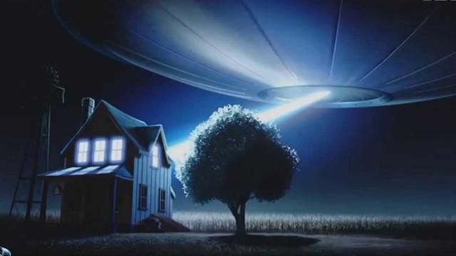 Abducido Lifted. Cortometraje de animación de Pixar