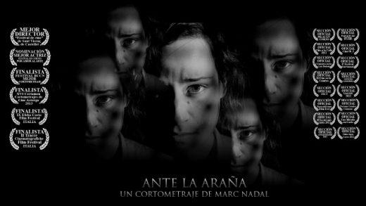 Ante la araña. Cortometraje y drama español de Marc Nadal