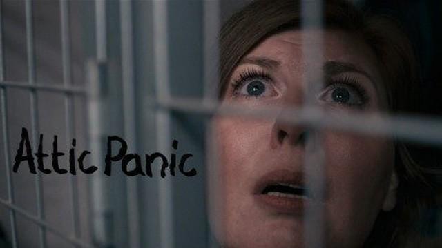 Attic Panic. Cortometraje sueco de terror de David F. Sandberg