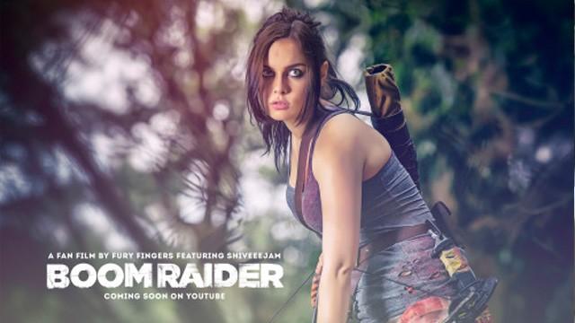 Boom Raider. Cortometraje y comedia de Acción FanFilm de Lara Croft