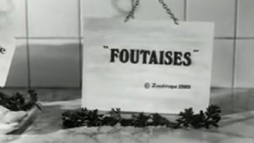 Foutaises. Cortometraje francés dirigido por Jean-Pierre Jeunet