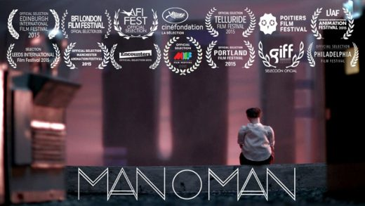 Manoman. Cortometraje de animación de Simon Cartwright