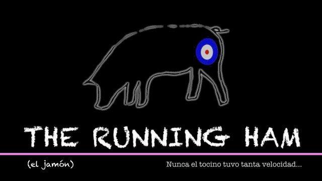 El Jamón/The Running Ham. Cortometraje español