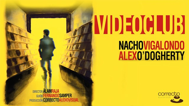 Videoclub. Cortometraje español con Nacho Vigalondo y Álex O'Dogherty