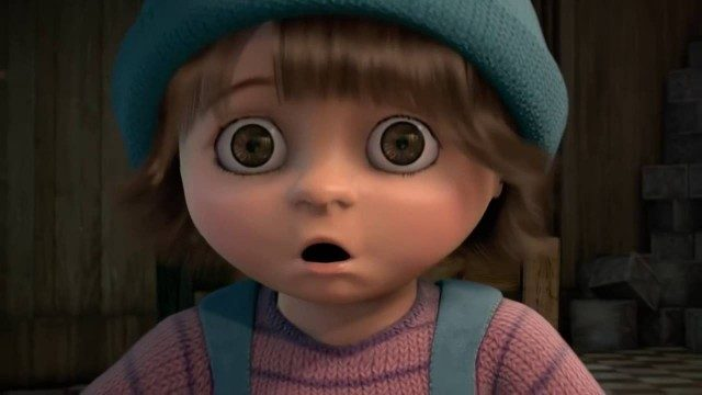 Zing. El niño que engañó a la muerte. Cortometraje alemán animación