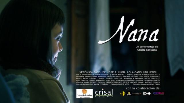 Nana. Cortometraje español de Alberto Santaella con Verónica Sánchez