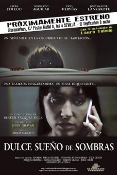 Dulce Sueño de Sombras cortometraje cartel