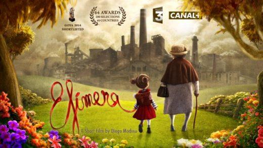 Efímera. Cortometraje escrito y dirigido por Diego Modino
