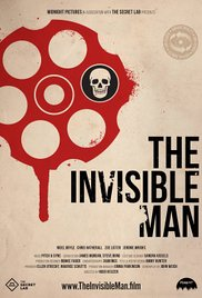 The invisible man cortometraje cartel