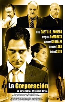 La corporacion cortometraje cartel poster
