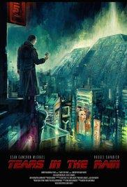 Tears in the rain cortometraje cartel