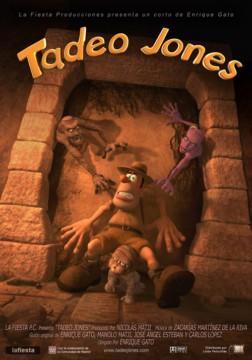 Tadeo Jones cortometraje cartel