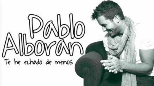 Te he echado de menos - Pablo Alborán. Videoclip del artista español