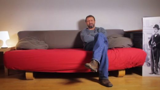 Visiona2. Cortometraje español dirigido y protagonizado por Javier Almeda