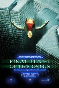 Animatrix El último vuelo de Osiris cortometraje cartel