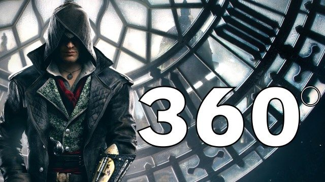 Assassin's Creed en 360 grados