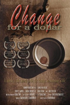 Change for a dollar cortometraje cartel poster