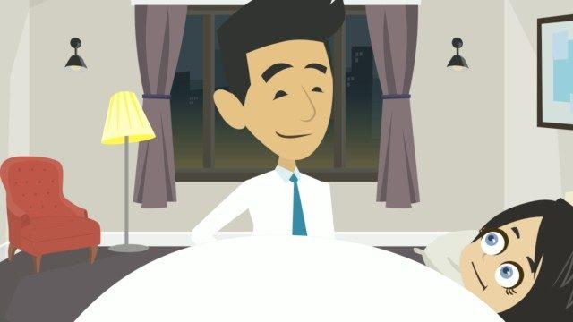 El cortometraje. Una historia de amor