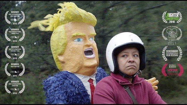 La madre buena. Cortometraje mexicano de parodia a Donald Trump