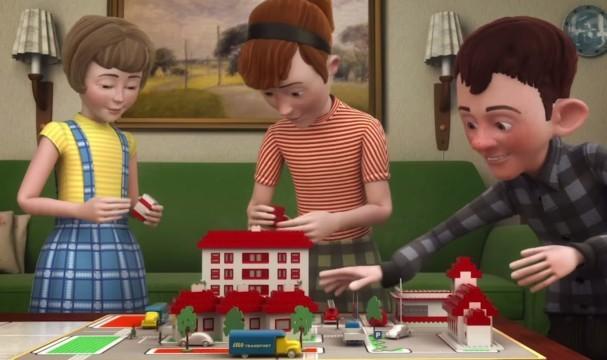 The Lego Story. Cortometraje de animación danés sobre la Historia de Lego