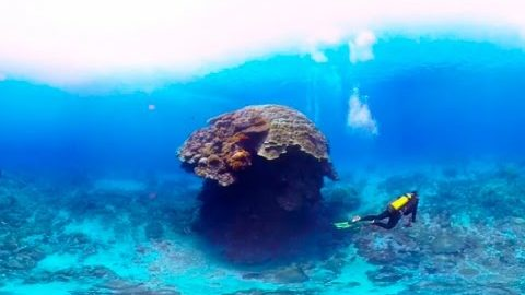 Scuba Diving Short Film in 360° Green Island, Taiwan