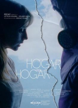 Hogar, hogar cortometraje cartel