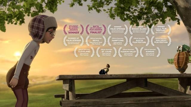 Soar. Cortometraje de animación de cine fantástico dirigido por Alyce Tzue