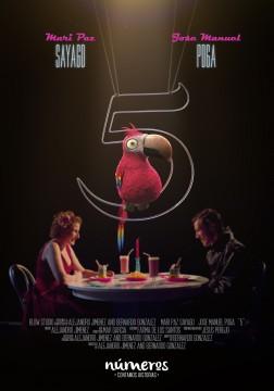 Numeros 5 cortometraje cartel poster