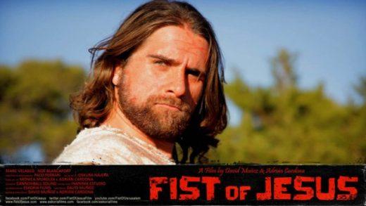 Fist of Jesus. Cortometraje español de serie B dirigido de Adrián Cardona, David Muñoz