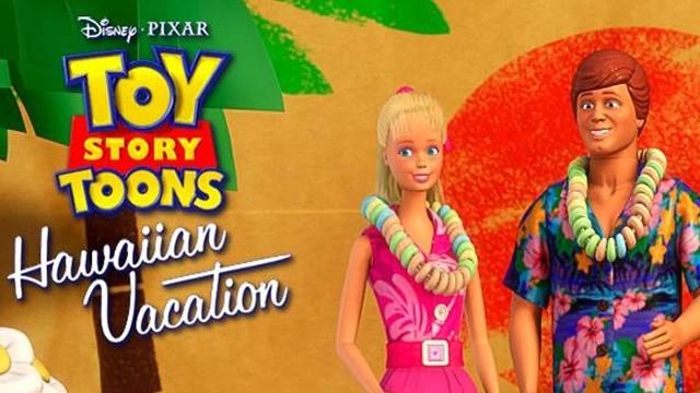 Toy Story Toons: Vacaciones en Hawai. Cortometraje animación de Pixar