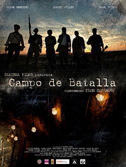 Campo de batalla cortometraje cartel