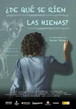 De qué se ríen las hienas cortometraje cartel poster