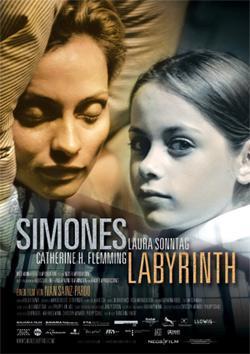 El laberinto de Simone cortometraje cartel