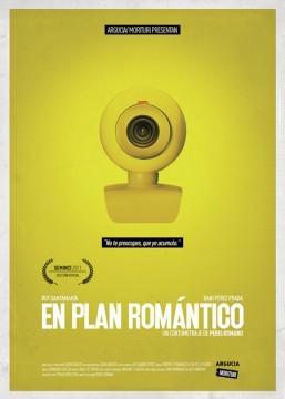 En plan romántico poster cortometraje cartel