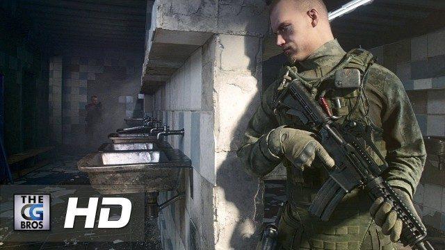 Escape From Tarkov Game Cinematic Trailer. Cortometraje de animación