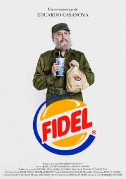 Fidel cortometraje cartel