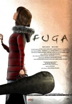 Fuga poster cortometraje cartel