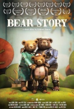 Historia de un oso (Bear Story) cortometraje cartel