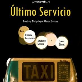 Ultimo servicio cortometraje cartel poster