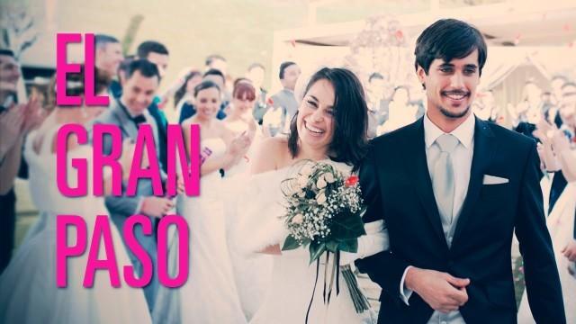 El gran paso. Cortometraje español comedia romántica de Julio Mazarico