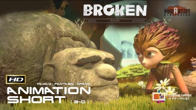 Broken: Rock, Paper, Scissors. Cortometraje de animación 3d