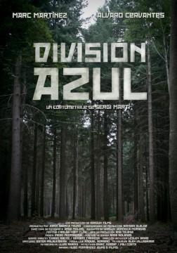 Division azul cortometraje cartel poster